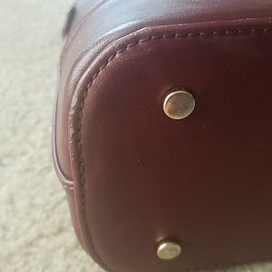 Sole Society Bags - Sole Society burgundy structured purse